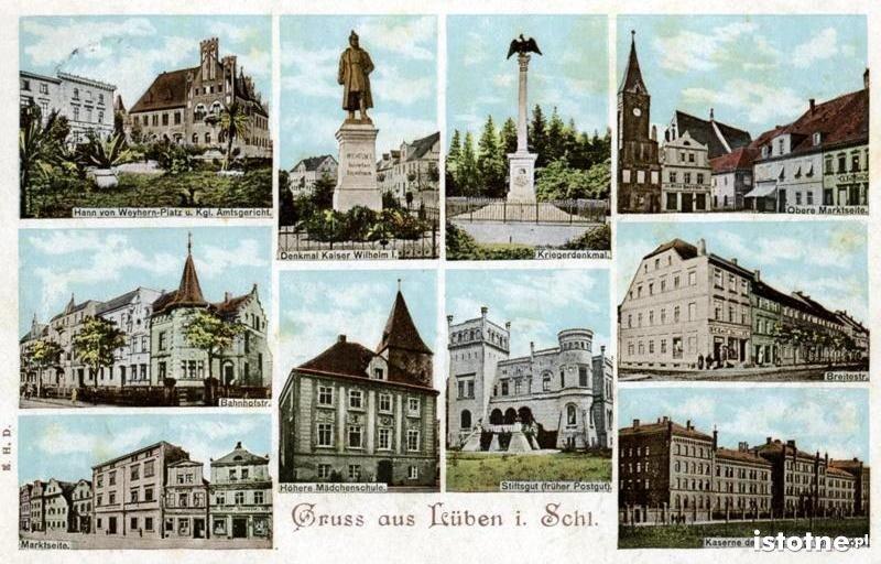 W prawym dolnym rogu: budynek koszar