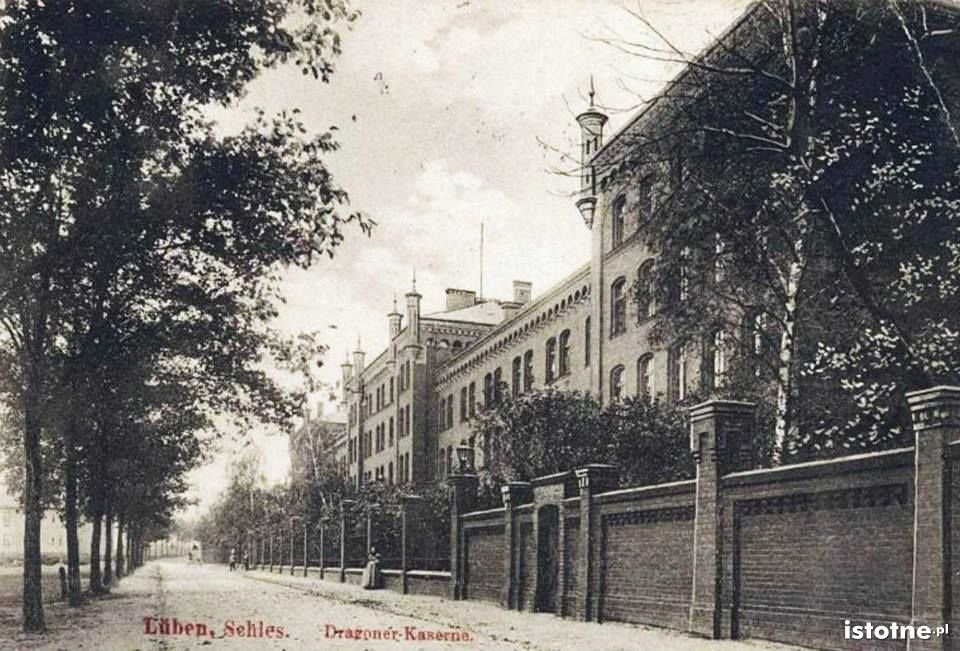 Dawna siedziba pułku w 1912 r.