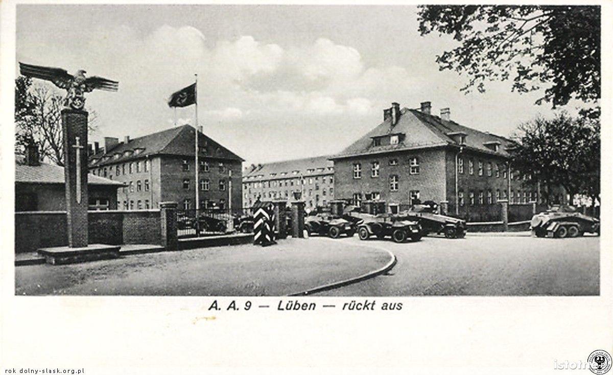 Dawne koszary w okresie III Rzeszy