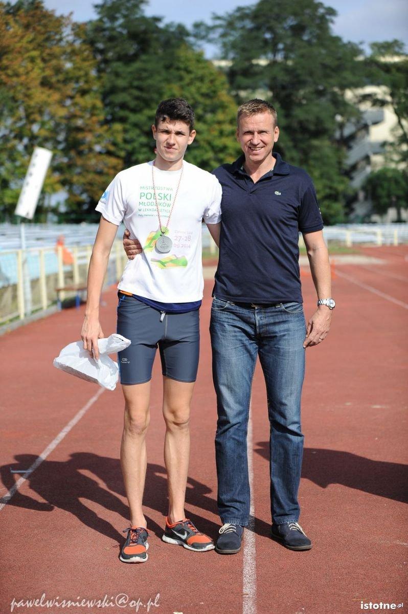 Mateusz Tofil i Bartosz Gruman