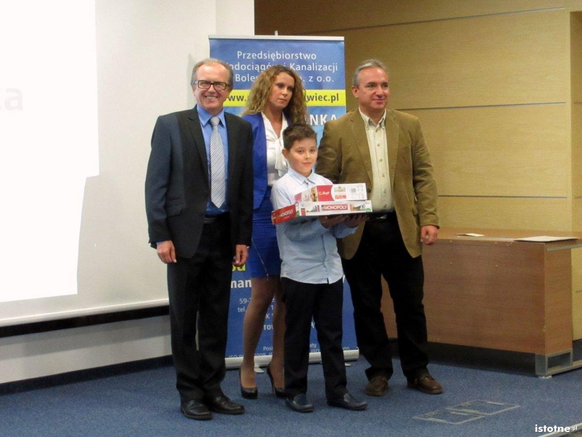 Seweryna Ramza (SP Nr 4) zdobył pierwsze miejsce w konkursie PWiK i był najlepszy wśród  354 dzieci