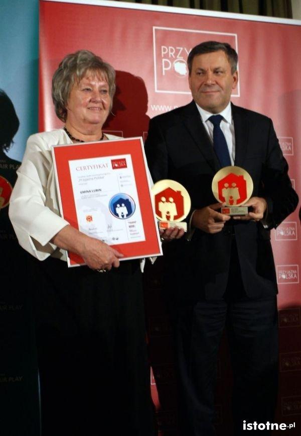 Irena Rogowska i Janusz Piechociński