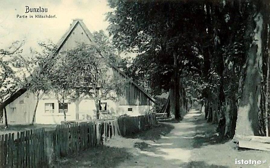 Stary Kliczków w latach 20. XX w.
