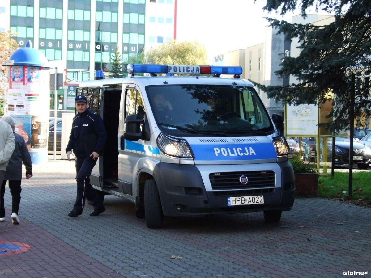Alarm o podłożeniu bomby w sądzie i starostwie