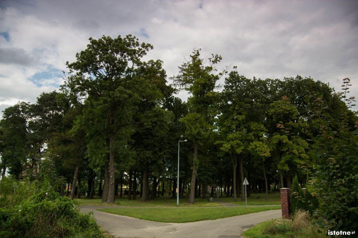 Park w Kruszynie przy ul. Świętojańskiej – dawny cmentarz braci morawskich
