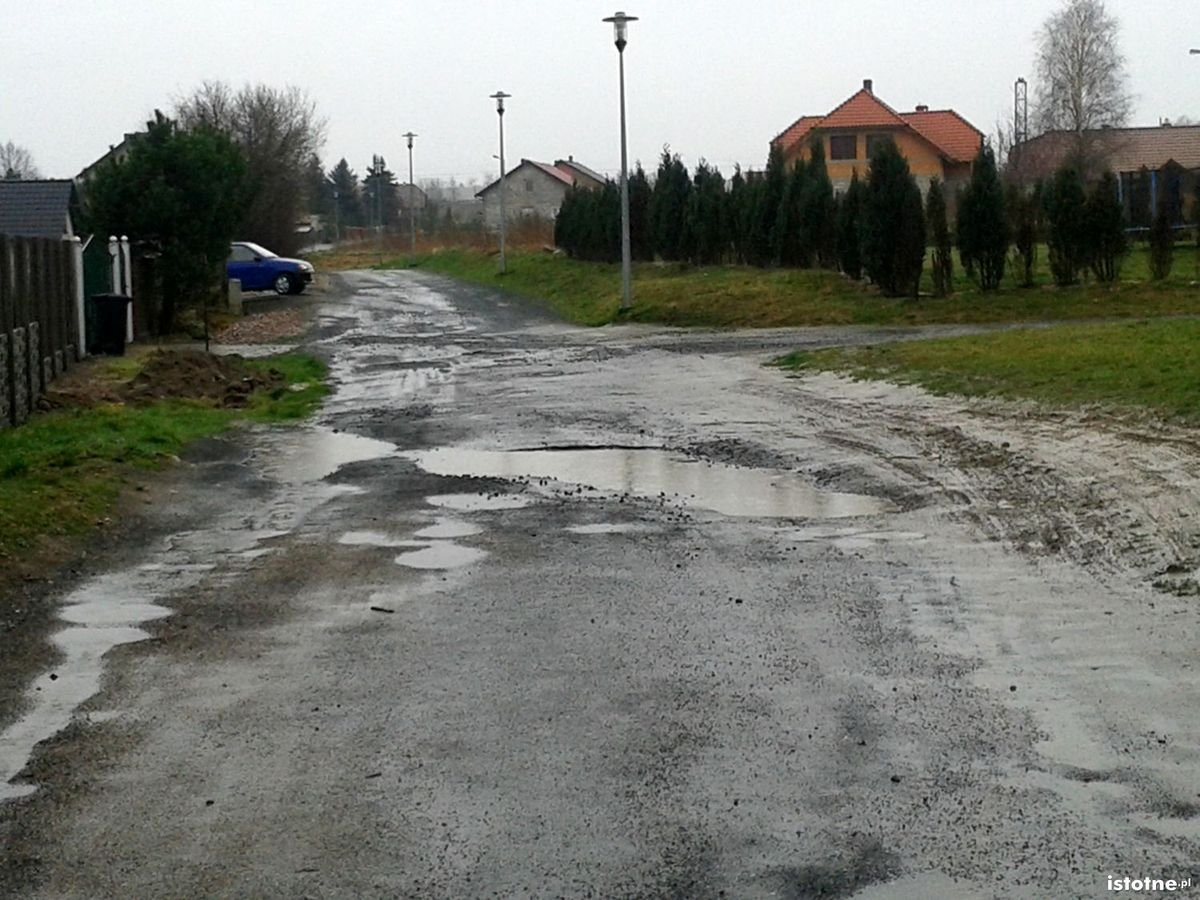 Droga w Bolesławicach