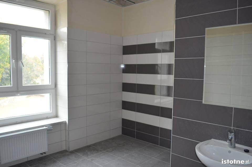 Toaleta w nowej siedzibie starostwa