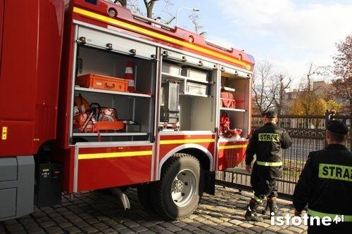 Mercedes dla strażaków