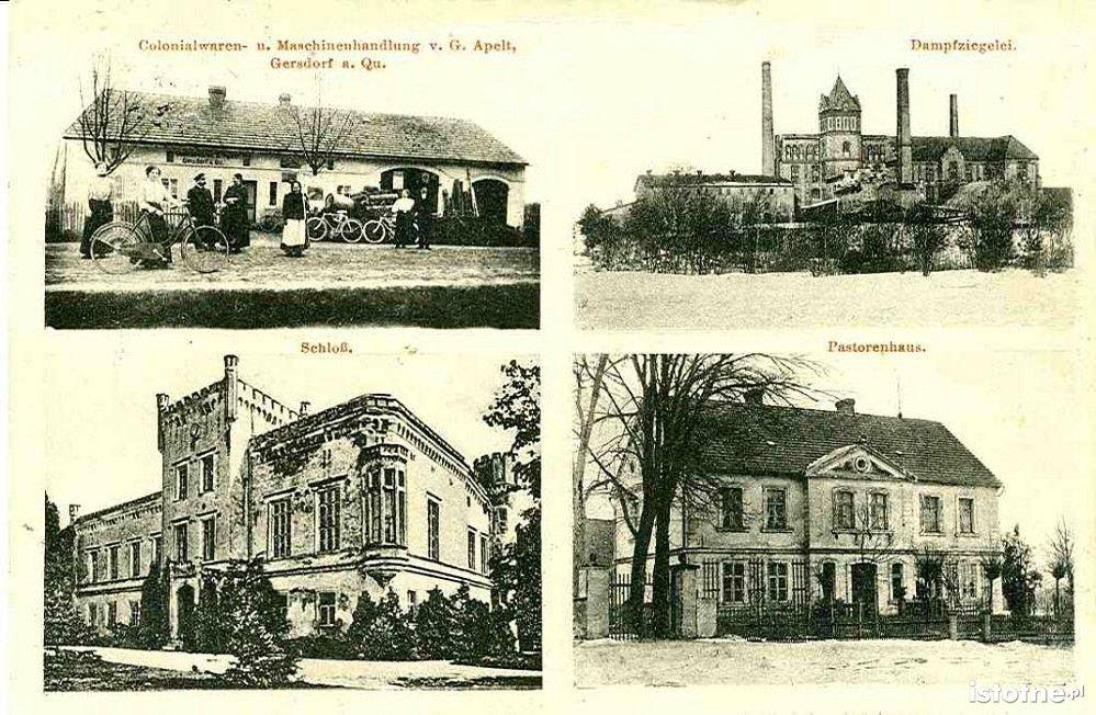 Gierałtów na początku XX w.