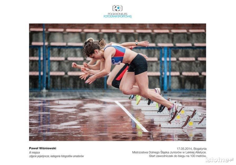 Zdjęcie Pawła Wiśniewskiego nagrodzone w konkursie fotografii sportowej