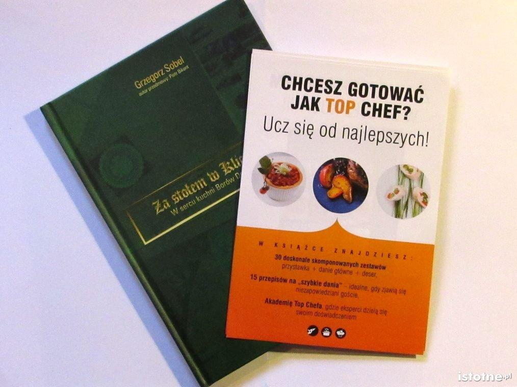 Publikacje kulinarne Top Chef i Sobel