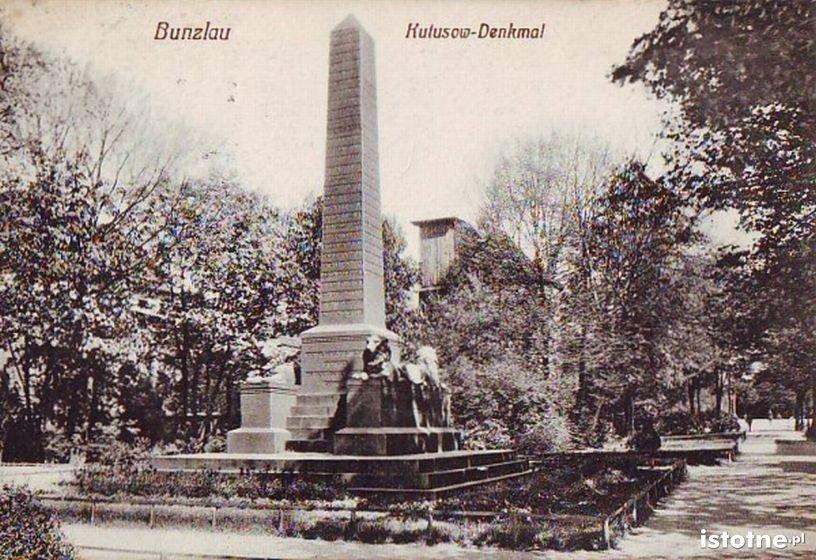 Pomnik w latach 20. XX w.