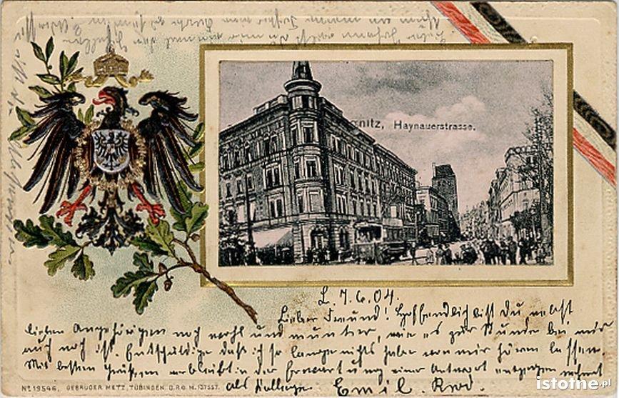Pocztówka z 1904 roku