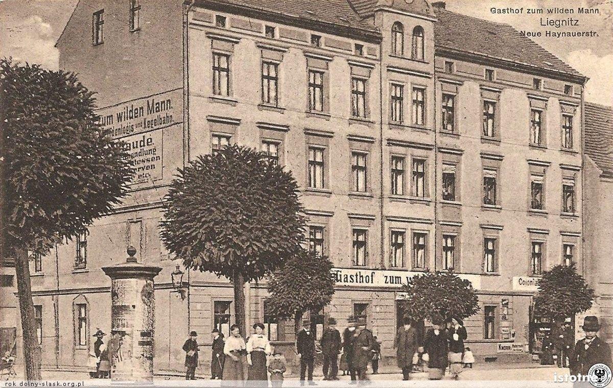 Gościniec przy ulicy Chojnowskiej w 1912 roku