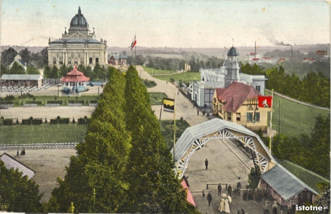 Pocztówka z 1905 roku