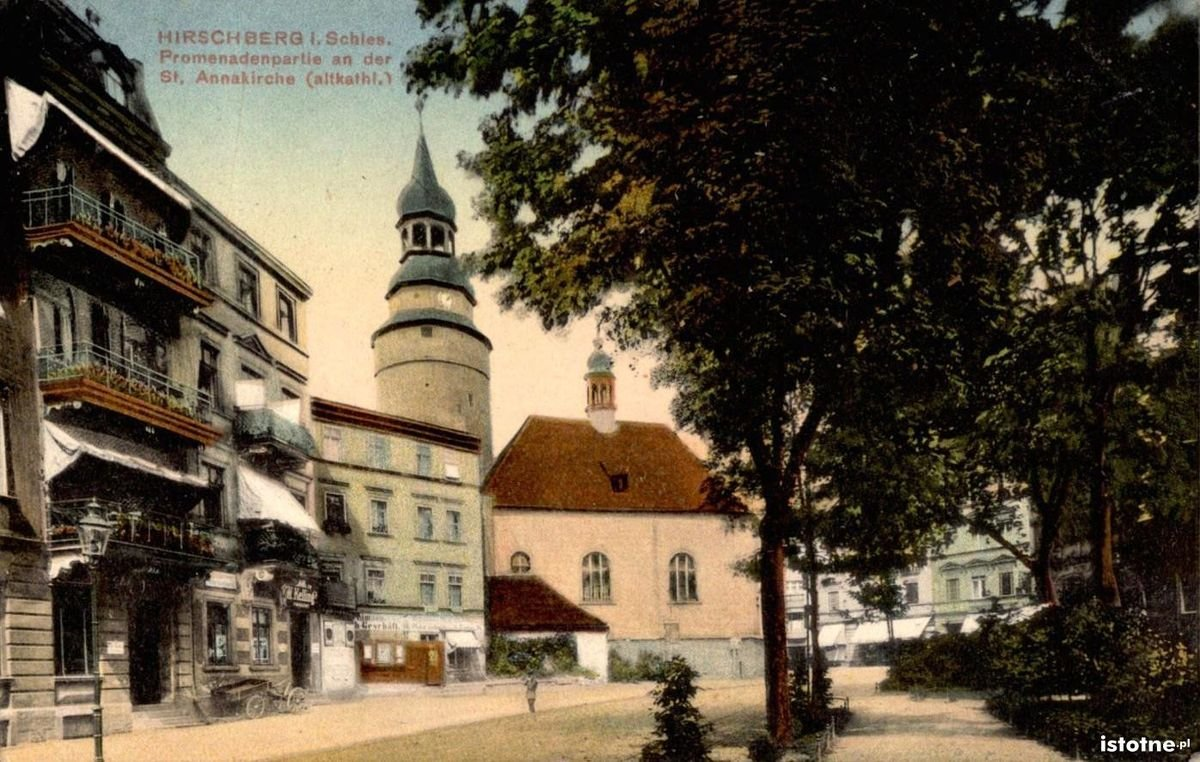 Ulica Bankowa w 1913 r.