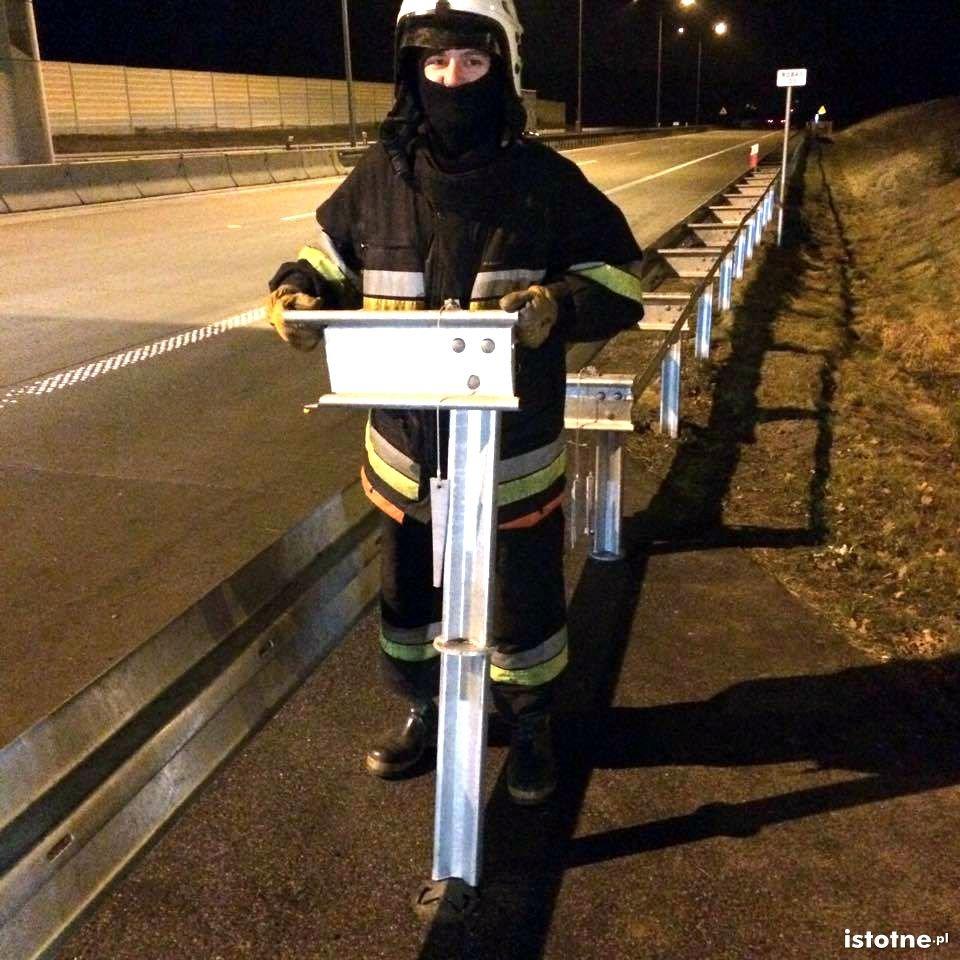 GDDKiA zmieniła sposób zamocowania barierek na A4