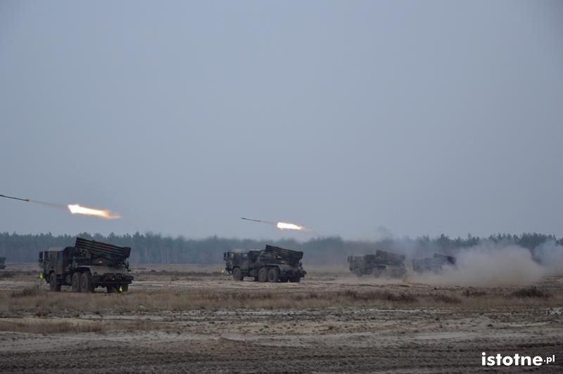 NAWAŁA-14 - ćwiczenia bolesławieckich artylerzystów