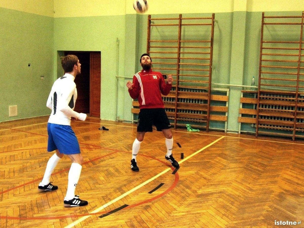 Trening drużyny siatkonogi Happy Feelings Bolesławiec