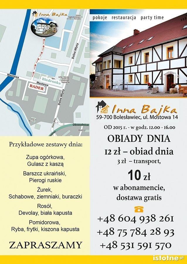 Restauracja Inna Bajka