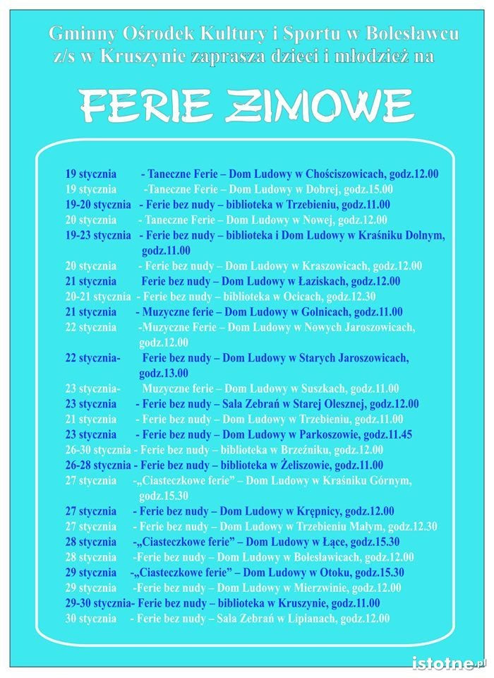 Ferie GOKiS 2015