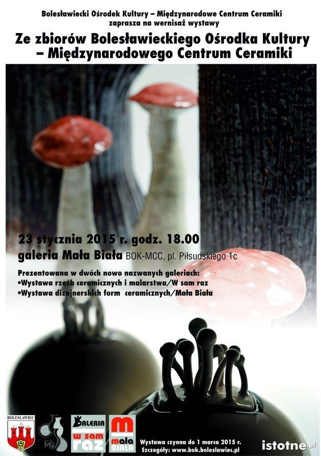 Plakat wystawy ceramicznej