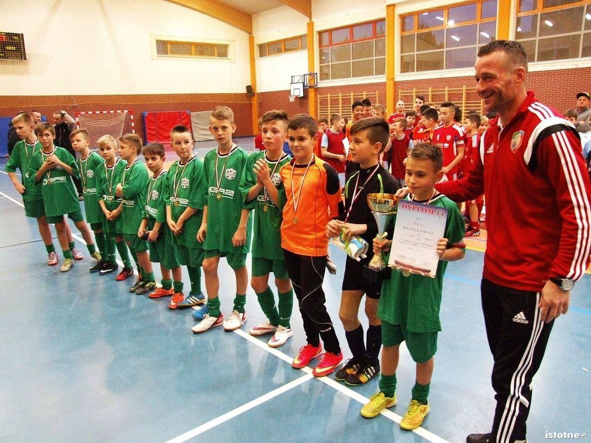 Młodziki BKS wygrały turniej Alior-Cup