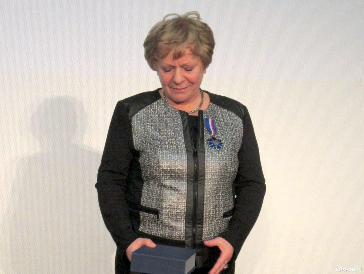 Janina Bany-Kozłowska dekorowana Gloria Artis