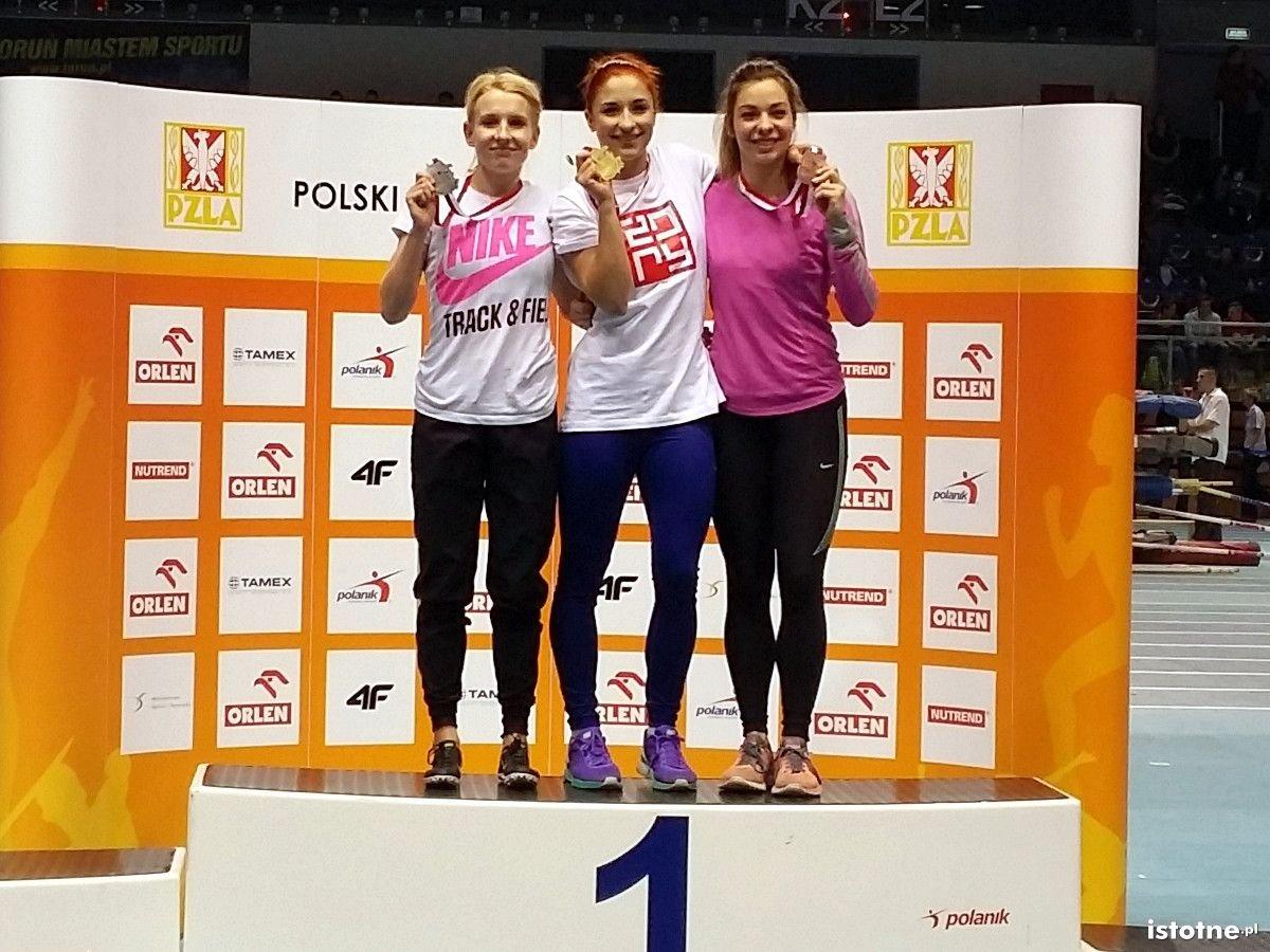 Ewa Ochocka z brązowym medalem