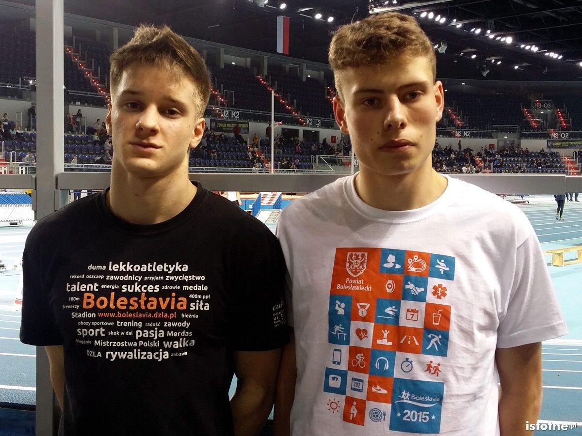 Od lewej: Maciej Buciak i Paweł Jóźwiak