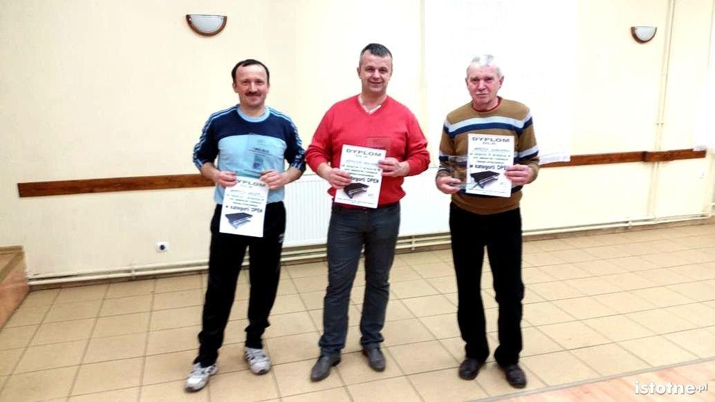 Andrzej Greszta, Krzysztof Wołoszyn i Andrzej Borucki