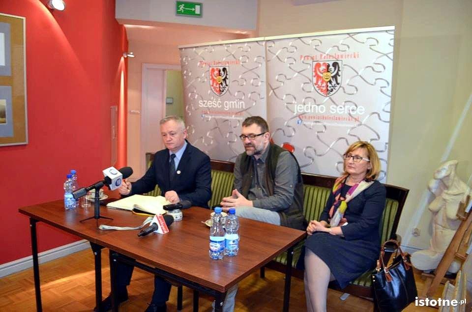 Dariusz Kwaśniewski, Jacek Głomb i Alicja Krzyszczak