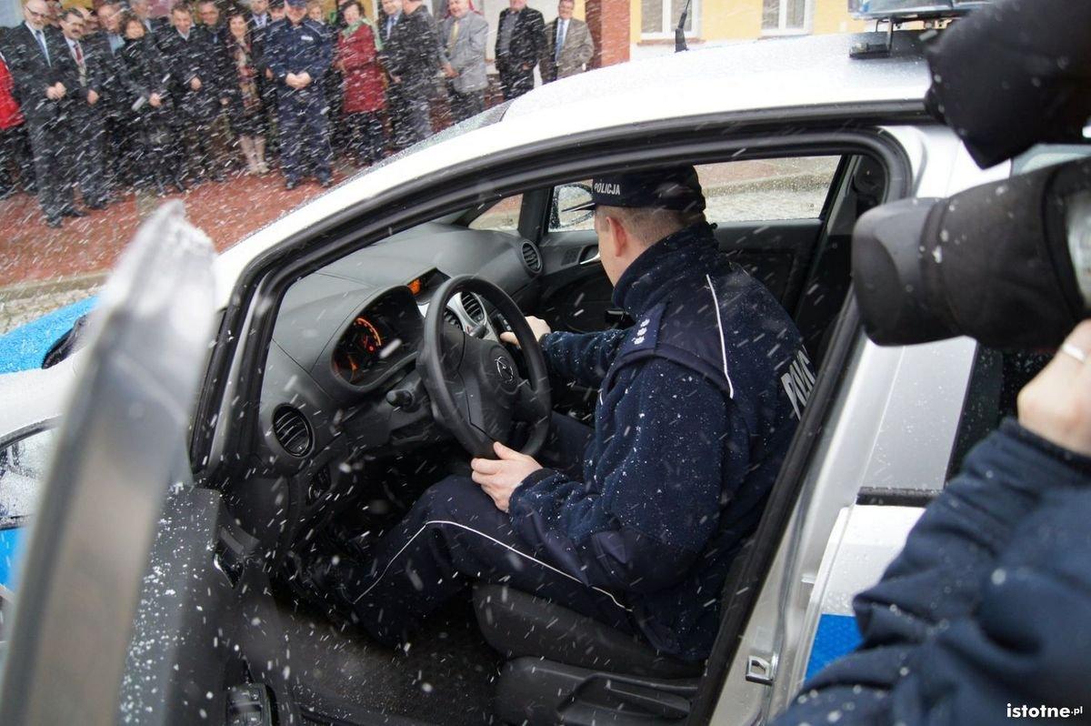 Wóz policyjny dla Kruszyna
