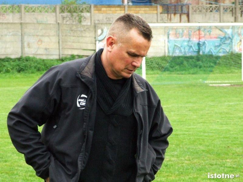 Trener BKS Andrzej Kisiel