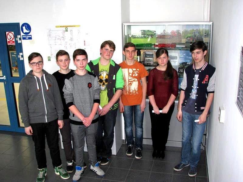 Uczniowie GS nr 4 w zakładach Lovink Polska i Weber Hydraulika