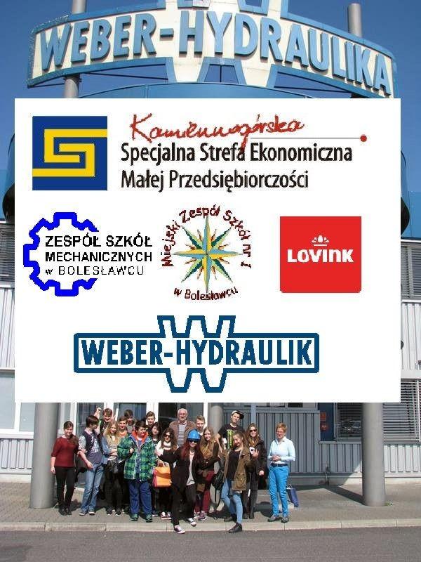 Uczniowie GS nr 4 w zakładach Lovink Polska i Weber Hydraulika z-index: 0