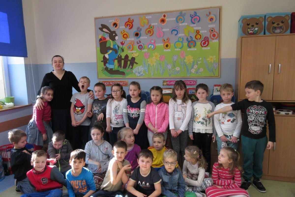 Spotkanie w SP nr 5 w klasie Doroty Stanałowskiej