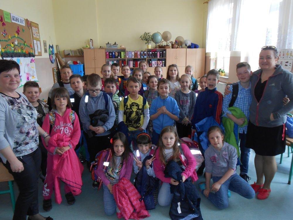 Spotkanie w SP nr 4 w kalsie Barbary Blicharskiej