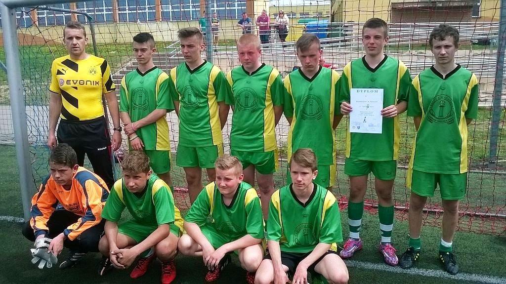 Mistrzostwa powiatu szkół gimnazjanych w piłce nożnej