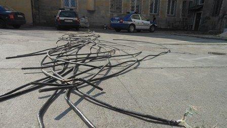 Grodmadka: ukradli 260 metrów kabla