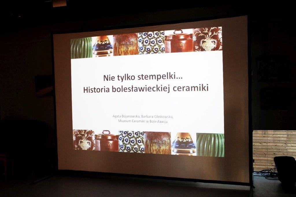 Prezentacja pracowników Muzeum Ceramiki