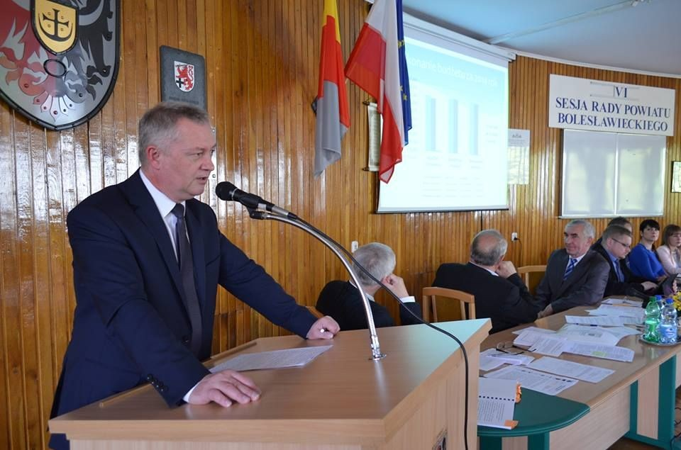Starosta Dariusz Kwaśniewski