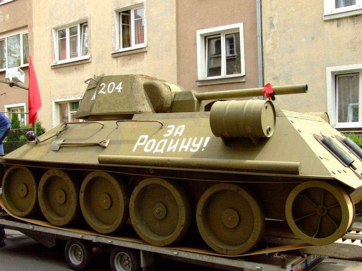 Happening niemieckich komunistów w Bolesławcu