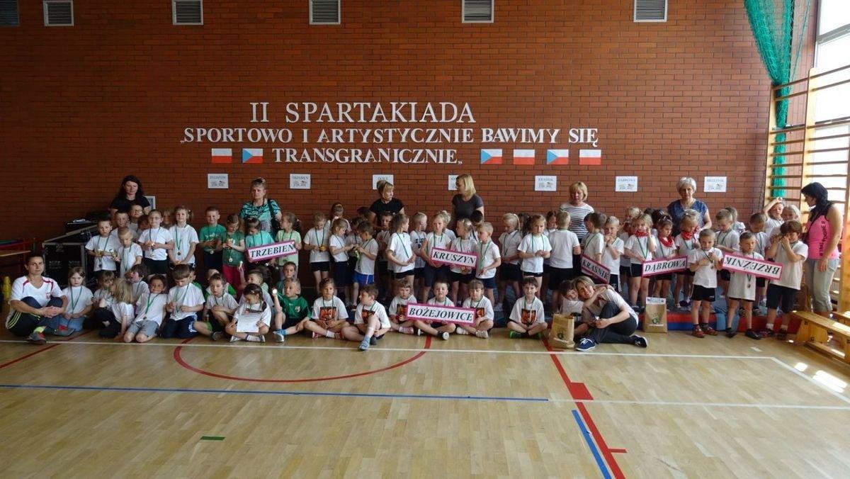 Spartakiada przedszkolaka