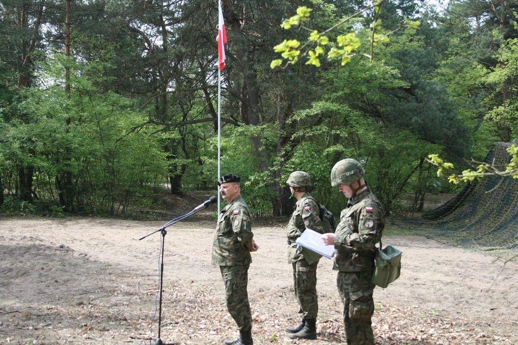 Inauguracja szkolenia poligonowego