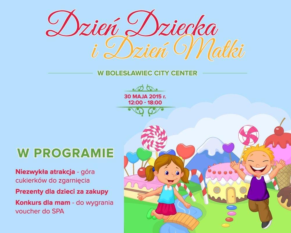 dzień dziecka plakat GALERIA BCC