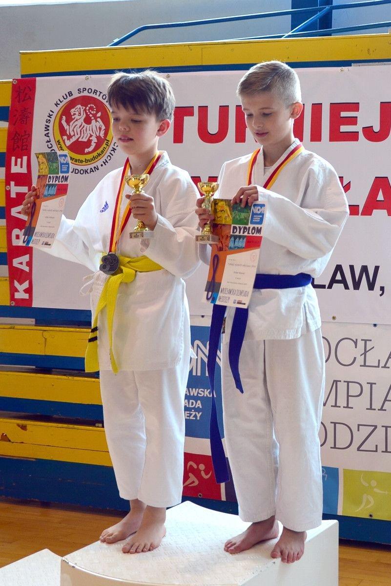 Wiktor Małkowski i Michał Bieliński