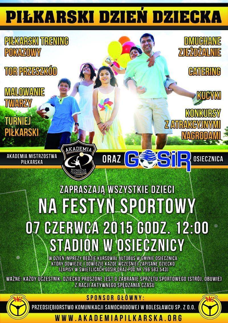 Piłkarski Dzień Dziecka w Osiecznicy