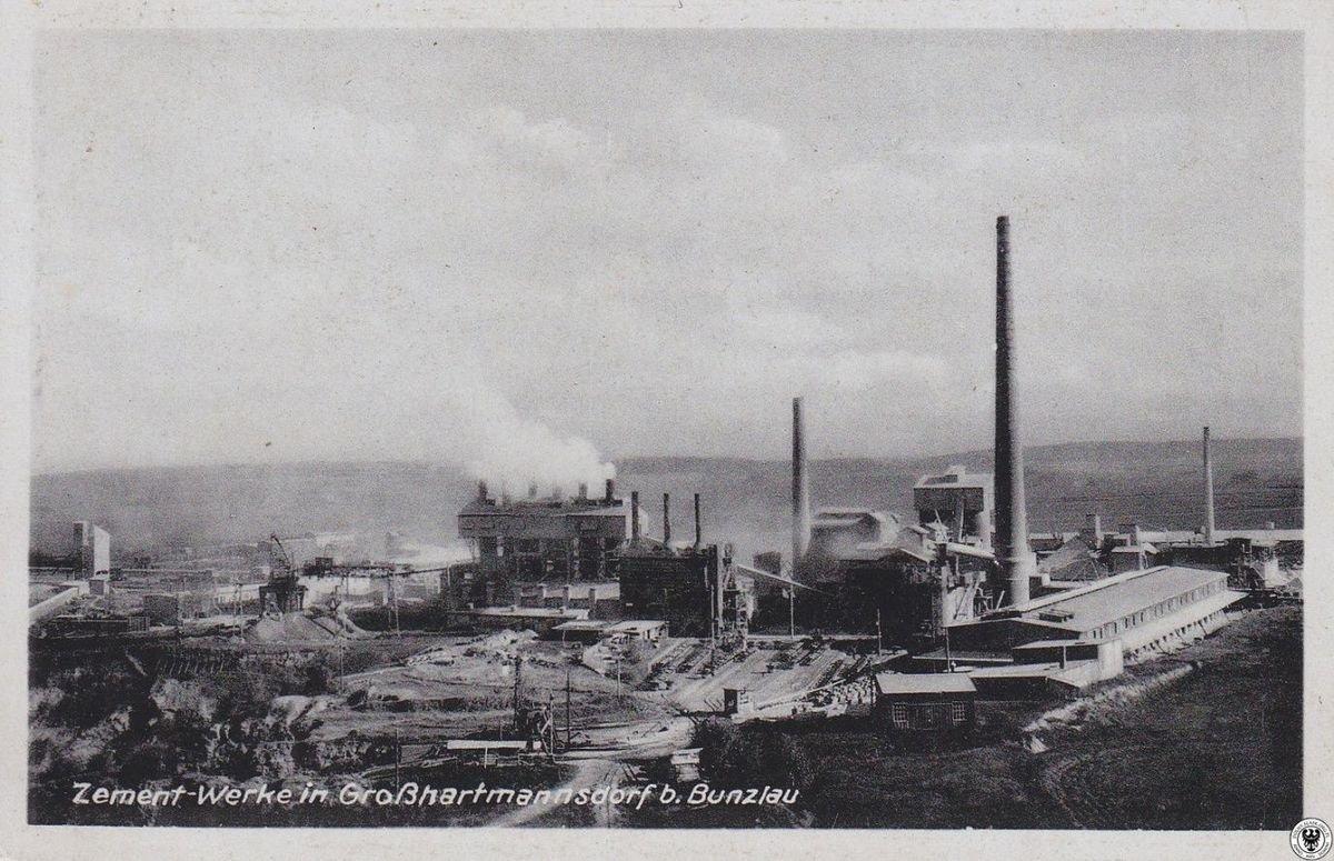 Cementownia w Raciborowicach w pierwszej połowie XX wieku