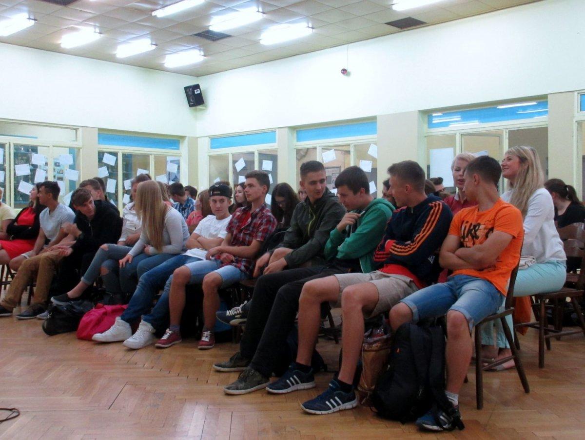 Gimnazjaliści z Ukrainy w II LO